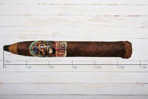 Island Jim by Oscar Valladares No. 2, Torpedo, Honduras, Ring: 52, Länge: 165mm
